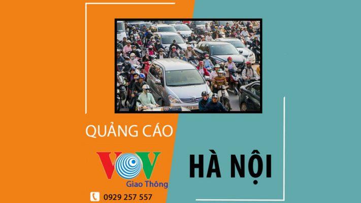 Quảng cáo trên vov giao thông Hà Nội